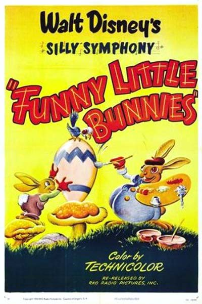 'Funny Little Bunnies' Poster