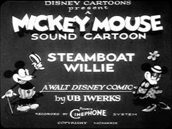 <i>Steamboat Willie</i> Title Card