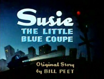 Susie The Little Blue Coupe Title Card