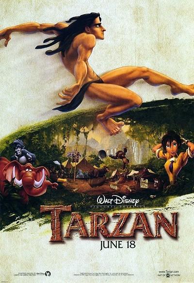 Tarzan Pre-Release Poster