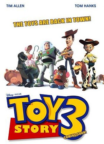 Toy Story 3 Pre Release Poster