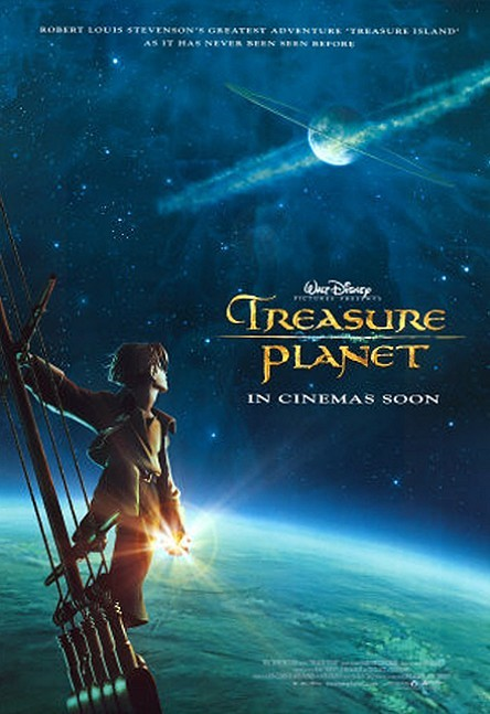 Treasure Planet Original Advance Poster