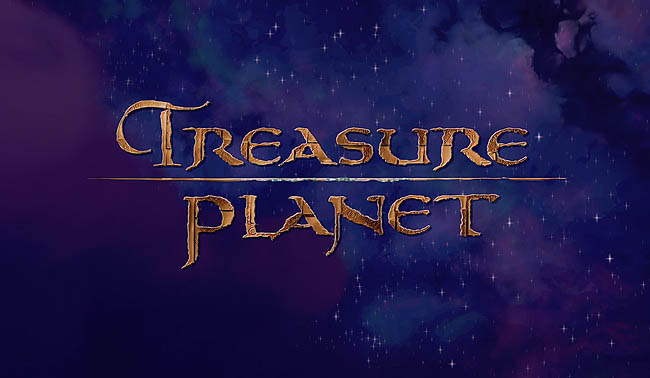 <i>Treasure Planet</i> Title Card
