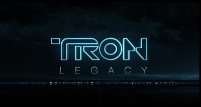 <i>Tron Legacy</i> Title Card