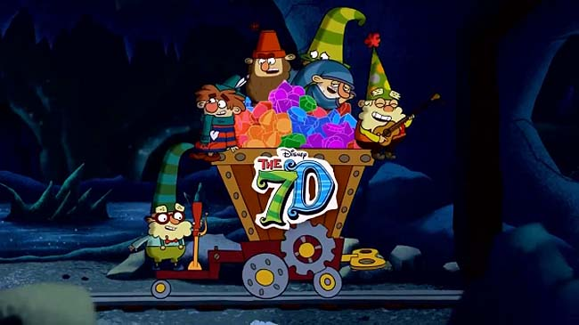 The 7D (Series) Title Card