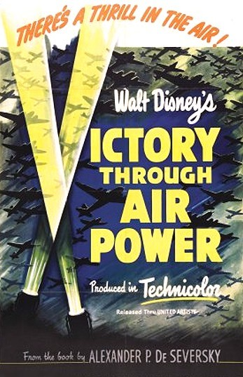 Victory Through Air Power Original Release Poster