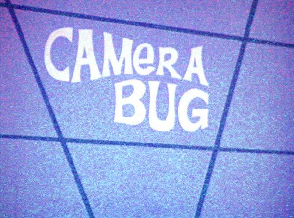 Camera Bug Title Card