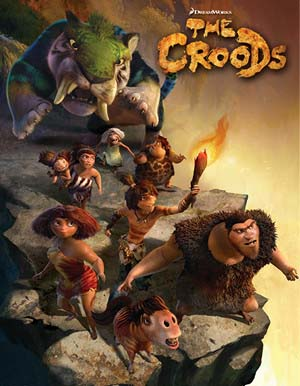 <i>The Croods</i> Title Card