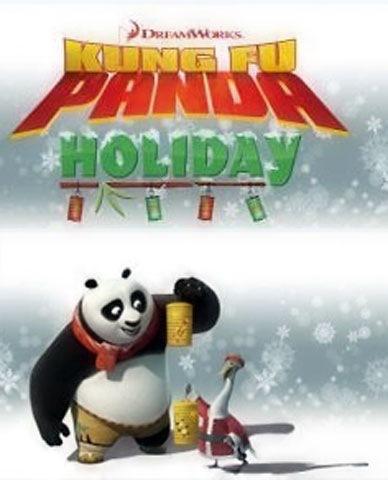 Kung Fu Panda Holiday Promo Image