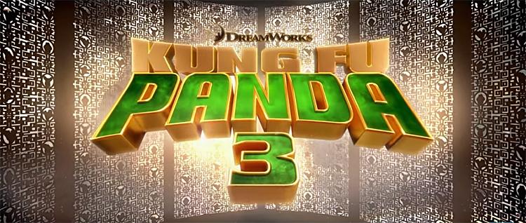 Kung Fu Panda 3 Title Card