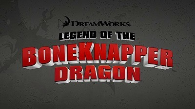 <i>Legend Of The Boneknapper Dragon</i> Title Card