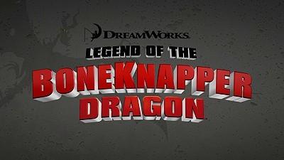 <i>Legend Of The Boneknapper Dragon</i> Title Card
