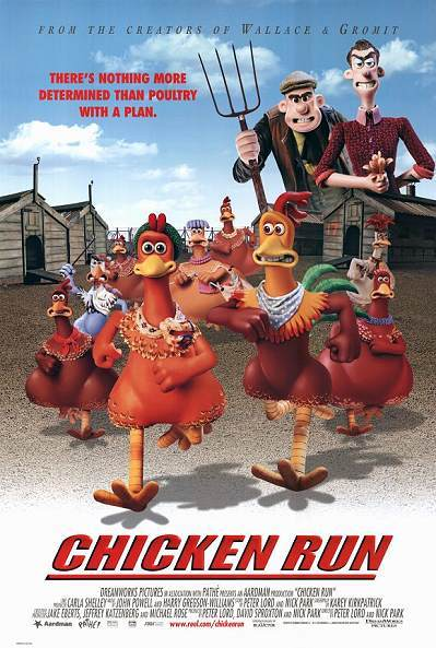 Chicken Run Release Poster