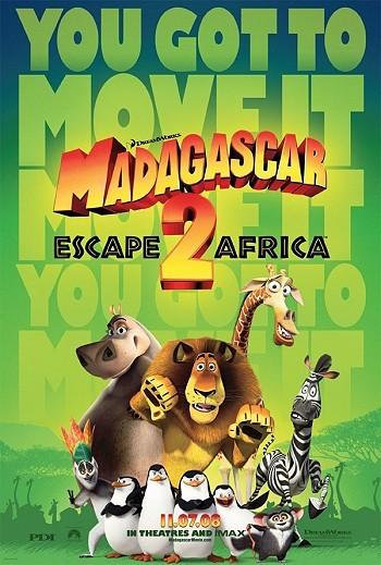 Madagascar: Escape 2 Africa Pre-Release Poster