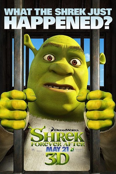 Shrek Forever After Pre-Release Poster