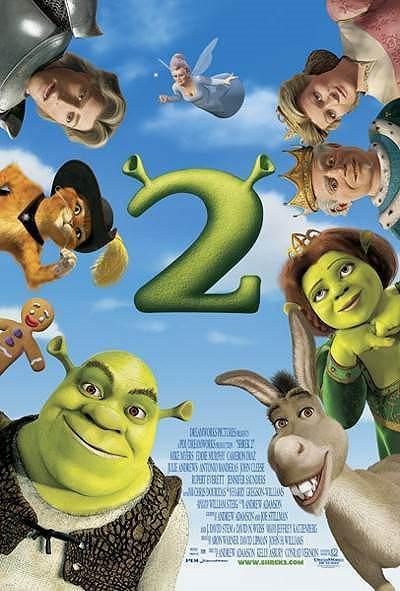 Shrek 2 Original Release Poster