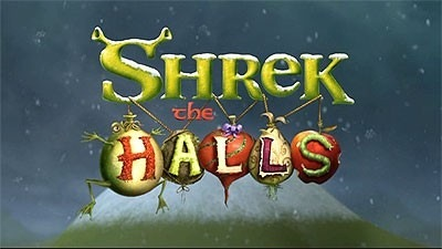 'Shrek The Halls' Title Card