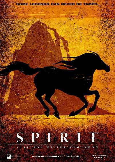 'Spirit: Stallion Of The Cimarron' Original Release Poster