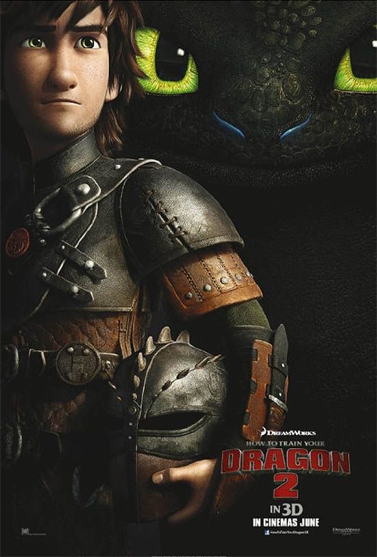 How to Train Your Dragon 2 Pre-release Poster