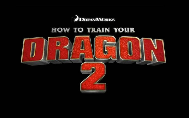 <i>How to Train Your Dragon 2</i> Title Card