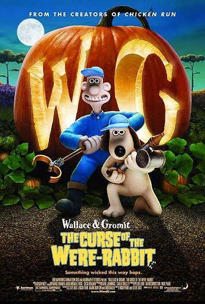 Wallace & Gromit: The Curse Of The Were-Rabbit Release Poster