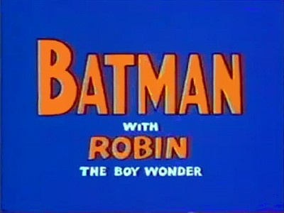 'Batman Television' Series Title Card