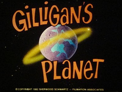 'Gilligan's Planet Television' Series Title Card