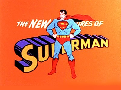 'Superman Television' Series Title Card