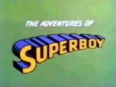 'Superboy Television' Series Title Card