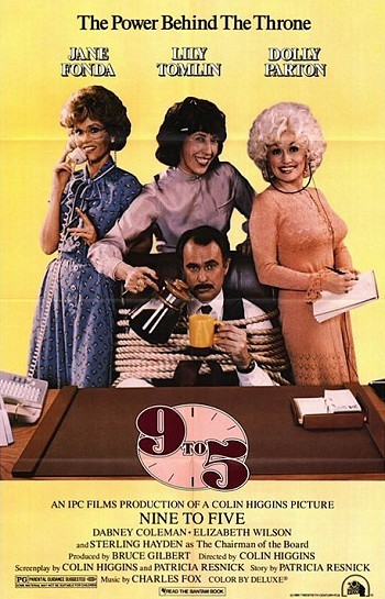 9 To 5 Original Release Poster