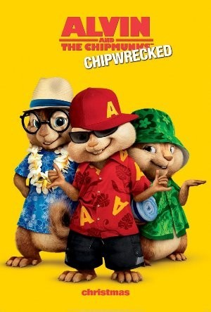 Alvin and the Chipmunks: Chipwrecked Pre-Release Poster