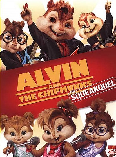 Alvin And The Chipmunks: The Squeakquel Pre-Release Poster