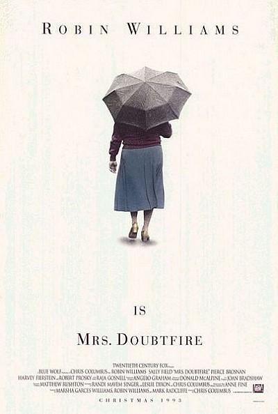 Mrs. Doubtfire Original Release Poster