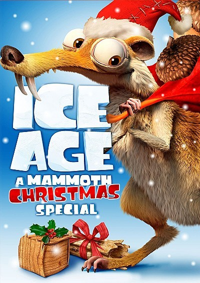 'Ice Age: A Mammoth Christmas' DVD Cover