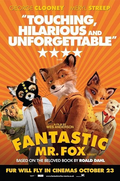 Fantastic Mr. Fox Pre-Release Poster