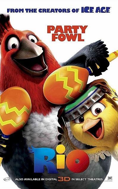 Rio Pre-release Poster