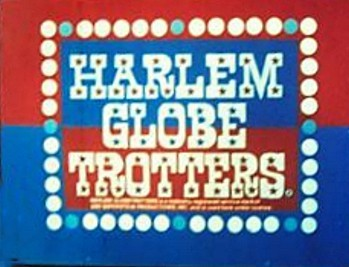 'The Harlem Globetrotters Television' Series Title Card