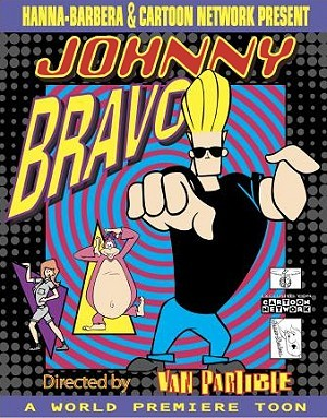 Johnny Bravo And The Amazon Women Poster
