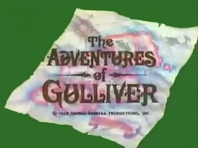 <i>The Adventures of Gulliver Television</i> Series Title Card
