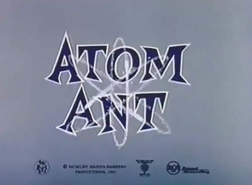 Atom Ant Television Series Title Card