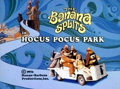 The Banana Splits In Hocus Pocus Park Title Card