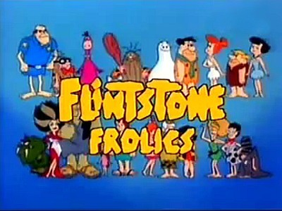 Flintstone Family Adventures Television Series Title Card