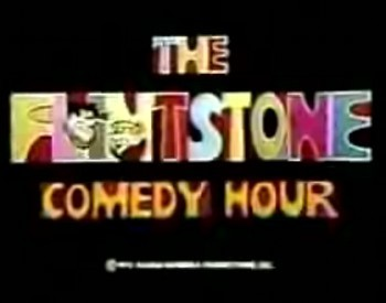 'The Flintstone Comedy Hour Television' Series Title Card
