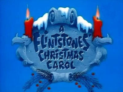'A Flintstones' Christmas Carol' Title Card