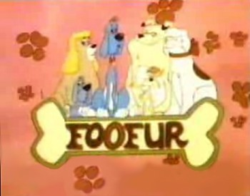 'Foofur Television' Series Title Card