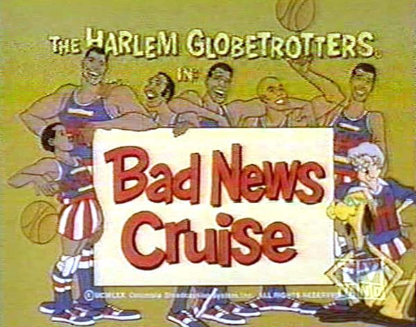 <i>Bad News Cruise Television Episode</i> Title Card