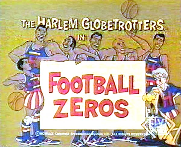 <i>Football Zeros Television Episode</i> Title Card