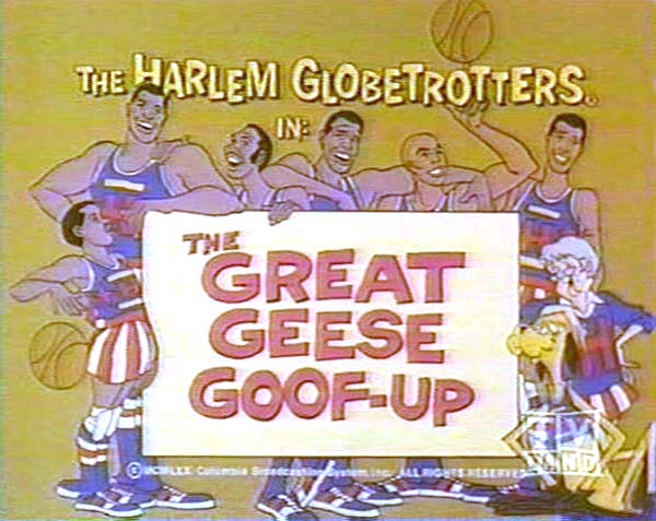 <i>The Great Geese Goof-Up Television Episode</i> Title Card