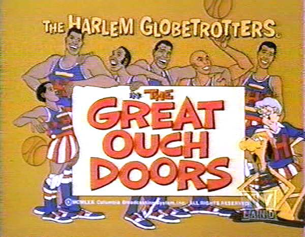 <i>The Great Ouch Doors Television Episode</i> Title Card