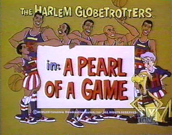 <i>A Pearl Of A Game Television Episode</i> Title Card